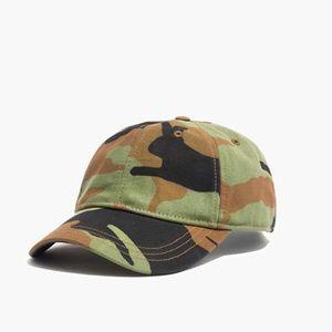 Madewell Camo baseball cap